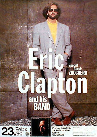 Opening For Eric Clapton Tour